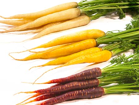 MIXED COLOURED CARROTS FRANCE 2KG 2kg