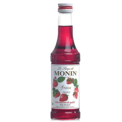 Monin Strawberry Syrup 25cl