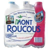 Mont Roucous Natural mineral still water 6x50cl