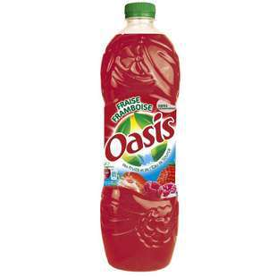 Oasis Strawberry & Raspberry juice 2L