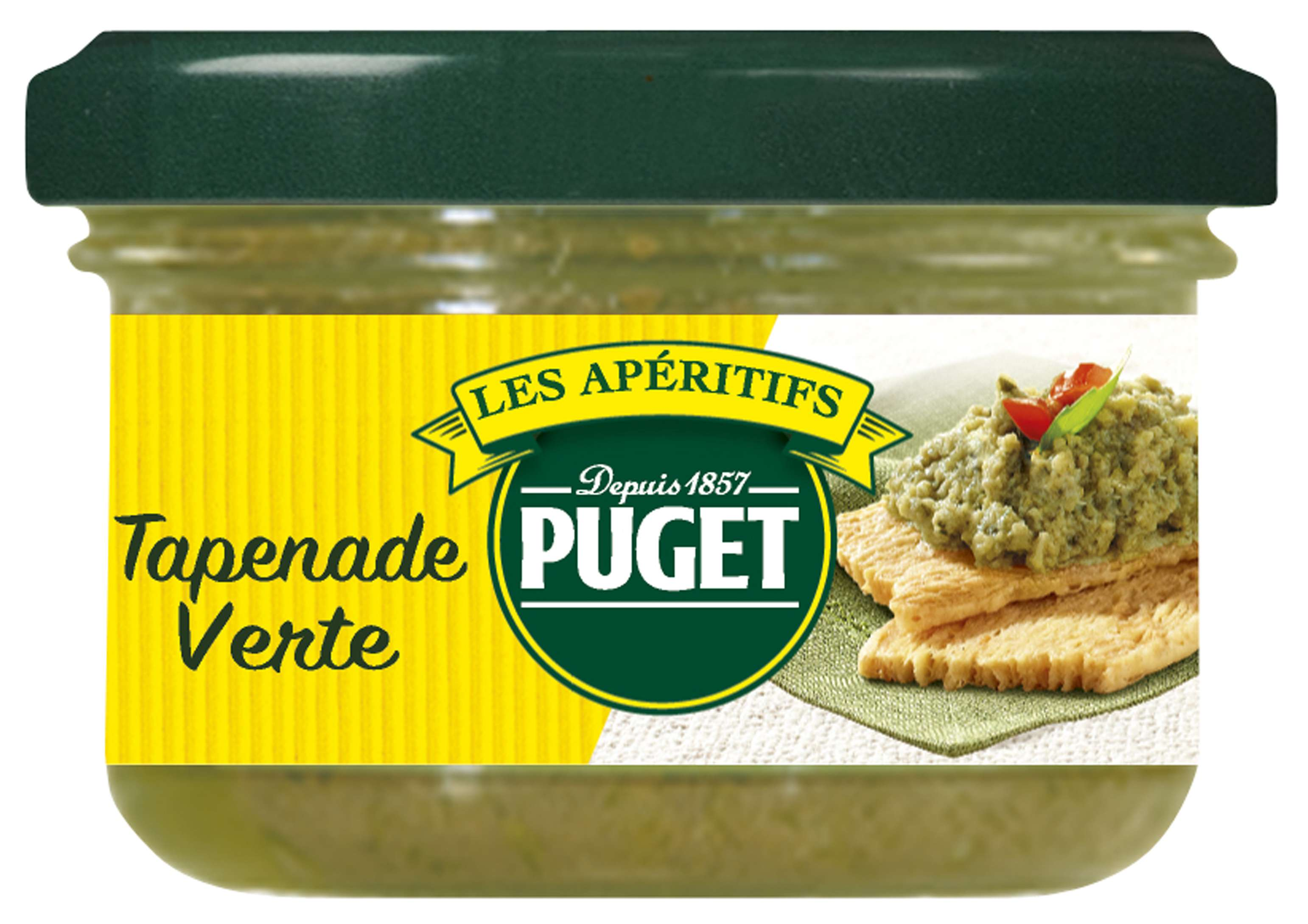 Puget Green Olives tapenade 90g