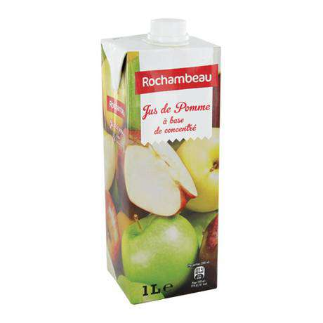 Rochambeau Apple Juice carton 6x1L