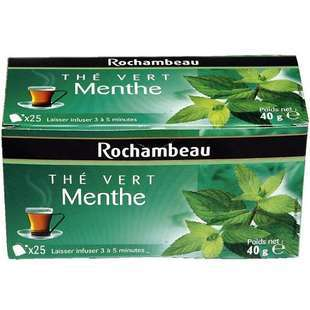 Rochambeau Green Mint Tea x 25 sachets 50g