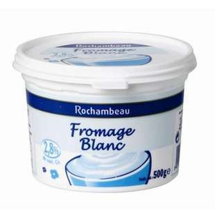 Rochambeau Plain cottage cheese 20% FAT 500g