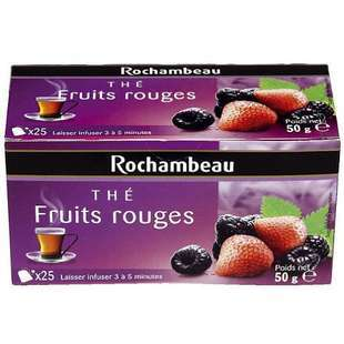 Rochambeau Red Fruits tea x 25 sachets 50g