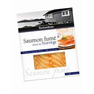 Rochambeau Smoked Salmon from Norway x4 slices 150g